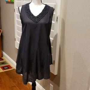 Semi sheer swimsuit cover up or dress